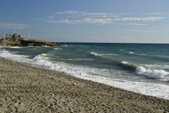 Playa de Torox imagenes de archivo