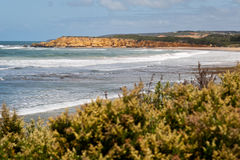Playa de Torquay - Australia imagen de archivo