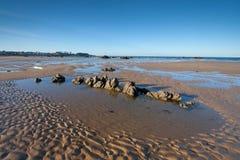 Playa de Trengandin Imágenes de archivo libres de regalías