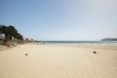 Playa de Trengandin Стоковые Фото