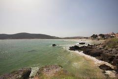 Playa de Trengandin Стоковое Изображение