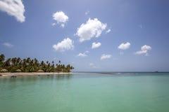 Playa de Trinidad y Tobago Fotos de archivo libres de regalías