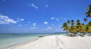 Playa de Trinidad y Tobago Imágenes de archivo libres de regalías