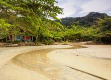 Playa de Trinidade, el Brasil Foto de archivo libre de regalías
