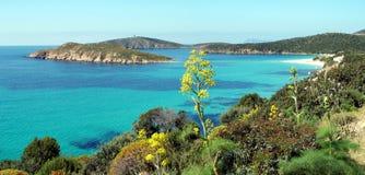 Playa de Tuerredda Imagen de archivo