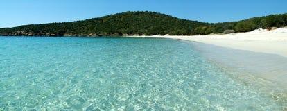 Playa de Tuerredda Foto de archivo libre de regalías