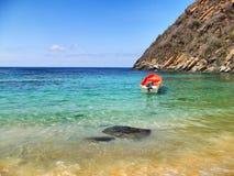 Playa de Tuja Imagenes de archivo
