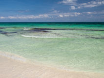 Playa de Tulum en México Fotografía de archivo libre de regalías