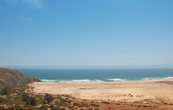 Playa de Tunquen Imagen de archivo libre de regalías