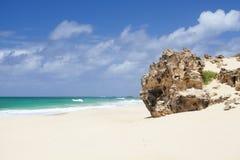 Playa de Varandinha Imágenes de archivo libres de regalías