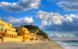 Playa de Varigotti Imágenes de archivo libres de regalías