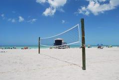 Playa de Venecia en Venecia la Florida Foto de archivo libre de regalías