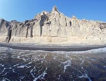 Playa de Vlichada imagen de archivo libre de regalías