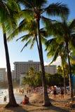 Playa de Waikiki Imagen de archivo