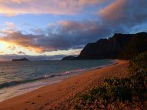 Playa de Waimanalo Imagen de archivo libre de regalías