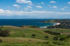 Playa de Werri de la ciudad, Australia Foto de archivo libre de regalías