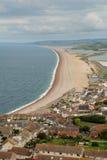 Playa de Weymouth Fotos de archivo libres de regalías