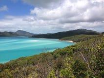 Playa de Whitehaven Imagenes de archivo
