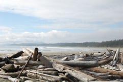 Playa de Wickaninnish Fotografía de archivo