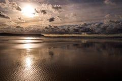 Playa de Woolacombe Foto de archivo libre de regalías