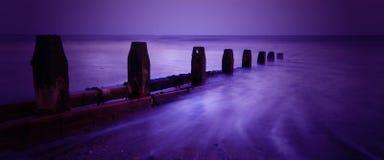 Playa de Worthing Foto de archivo libre de regalías