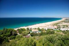 Playa de Zahara Fotos de archivo libres de regalías