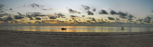 Playa de Zanzibar foto de archivo libre de regalías