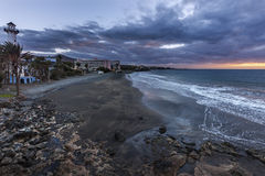 Playa del Aguila Royalty Free Stock Image