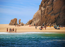 Playa del amante Foto de archivo libre de regalías