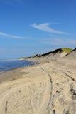 Playa del bacalao de cabo Imágenes de archivo libres de regalías