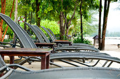 Playa del banco Foto de archivo libre de regalías