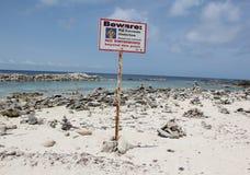 Playa del bebé, Aruba en el mar del Caribe Imagenes de archivo