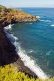 Playa del Bolluyo, Ténérife, Espagne Photos stock