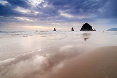 Playa del cañón Imagen de archivo libre de regalías