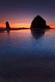 Playa del cañón Fotos de archivo