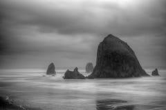 Playa del cañón Foto de archivo libre de regalías