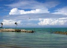 Playa del cable Imagen de archivo libre de regalías
