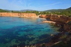 Playa del caleta del Sa Fotografía de archivo