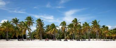 Playa del cana del casquillo Foto de archivo libre de regalías