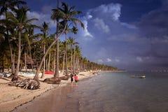 Playa del Caribe Imagen de archivo libre de regalías