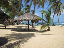 playa del Caribe tropical Foto de archivo libre de regalías