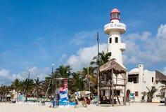 Playa del Carmem Beach Yucatan Mexico Royalty Free Stock Photography