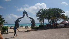 Playa del Carmen03 Стоковые Изображения