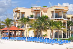 Playa Del Carmen. In Mexico Stock Photos