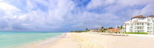 Playa del Carmen Stock Afbeeldingen