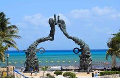 Playa del Carmen Stock Afbeelding