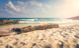 Playa Del Carmen beach, Mexico Stock Images