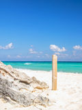 Playa Del Carmen beach, Mexico Royalty Free Stock Photos
