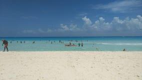 Playa del Carmen Beach Royalty Free Stock Photo
