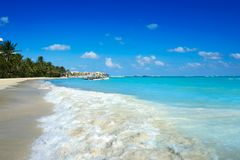 Playa del Carmen beach in Riviera Maya Stock Image